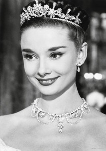 Audry Hepburn Roman Holiday